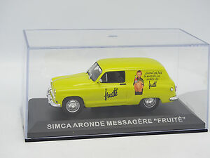 Ixo-Presse-1-43-Simca-Aronde-Messagere-Fruite