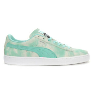 PUMA-Men-039-s-Suede-Diamond-Supply-Diamond-Blue-Shoes-36939601-NEW
