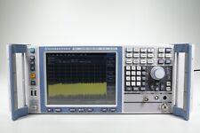 Rohde Amp Schwarz Fsv30 Signal And Spectrum Analyzer 10 Hz To 30 Ghz B29k9
