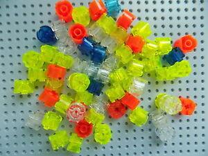 LEGO NEW Bulk Lot Six Sides 10 Blue Flowers 1x1 2x2 total size
