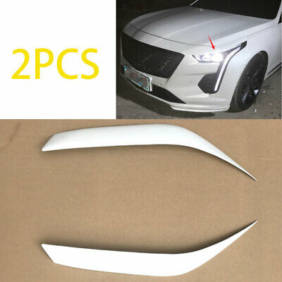 ABS White Fit For Cadillac CT6 2019-2020 Front Headlight ...