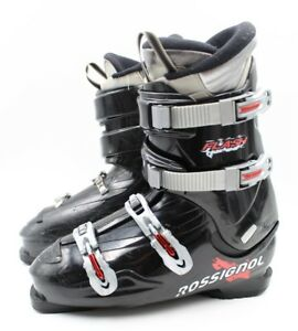 Used Ski Boots >> Details About Rossignol Flash Adult Ski Boots Size 6 5 Mondo 24 5 Used
