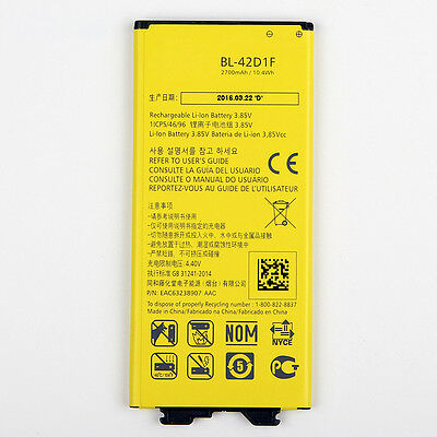LG G5 New Replacement Battery BL-42D1F Bulk packaging Accessories ...