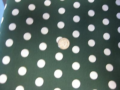 "Polka Dot Small 3/8"" Fabric BTY by yard 36x44 UPICK COLOR quilting cotton back"