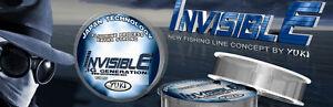 Invisible-3G-Generation-Extra-Strong-Fishing-Line-YUKI-300m-Spools