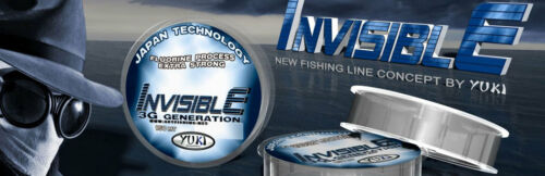 Invisible 3G Generation Extra Strong Fishing Line YUKI BULK 1000M Spool
