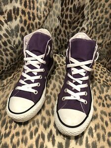 83fb8035d973 Men s Converse Chuck Taylor All Star High Sneaker-Style White Purple ...