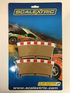 Scalextric-C8281-Radus-3-Courbe-Interieur-Frontieres-X-4-Neuf-Emballe-Scelle