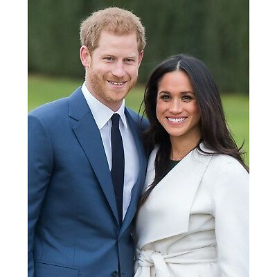 Prince Harry & Meghan Markle 8 x 10 / 8x10 GLOSSY Photo Picture