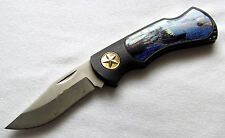 Attack on Pearl Harbor World War 2 - 1941 Taschenmesser Pocket Knife