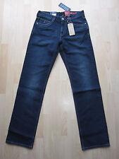 Nuevo CON ETIQUETAS Tommy Hilfiger Diseñador Madison s W33 L35 Hombres Jeans alto largo Vint dar Blu