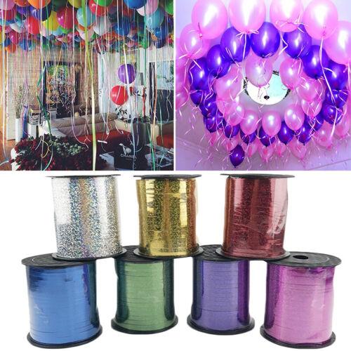 250 Yards Ballon Bandrolle DIY Geschenk Folie Curling Hochzeit Geburtstag Party