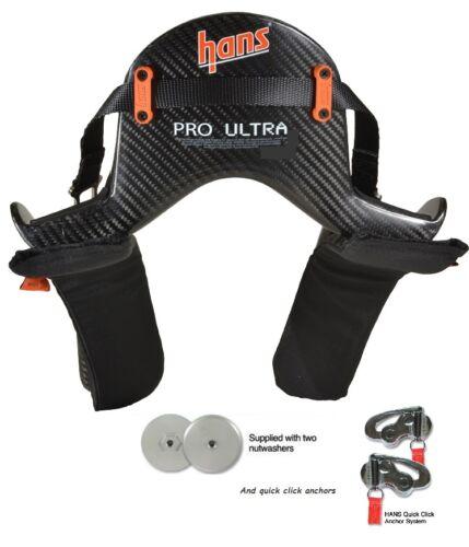 Medium Hans Device Pro Ultra 20 Degree Quick Click Sliding Tethers,Arai,Simpson