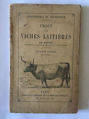 CHOIX DE VACHES LAITIERES 1895 MAGNE ILLUSTRE