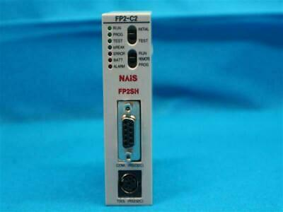 Nais Panasonic Matsushita AFP2231 FP2-C2 FP2C2 FP2SH CPU Unit