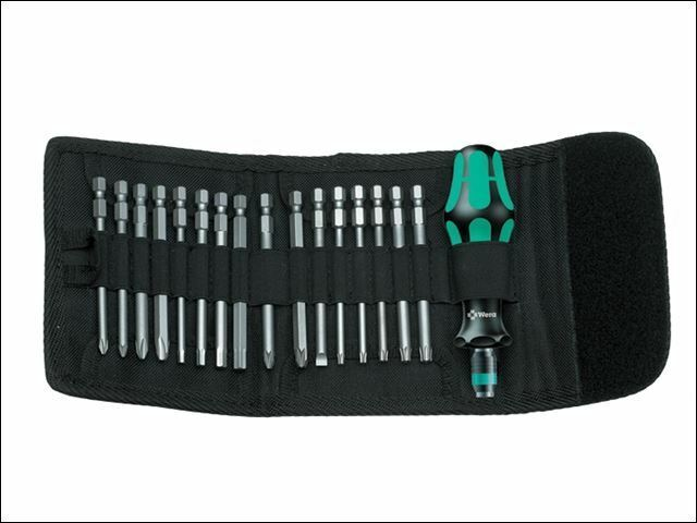 Wera - Kompakt 60 Screwdriver Specialist Bit Holding  Kit of 17 Pouch
