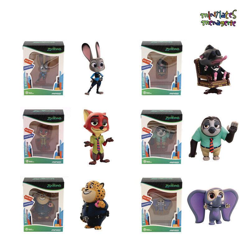 Beast Kingdom Mini Œuf Attaque Mea-006 Zootopie Jeu Complet Of 6 Figurines