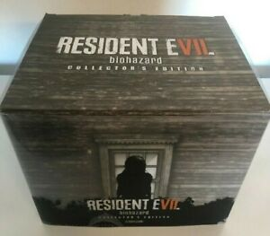 Resident-Evil-Biohazard-7-Collector-039-s-Edition-PS4-packaging-only-no-items