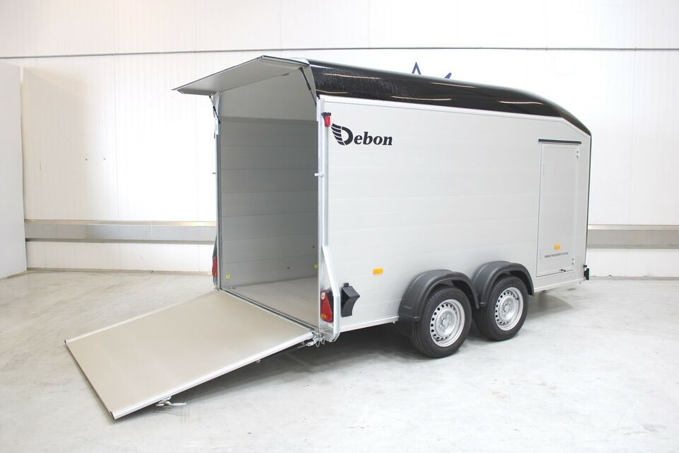 Trailer Debon C700 - Alu - Sidedør Den Ekstra Store...,