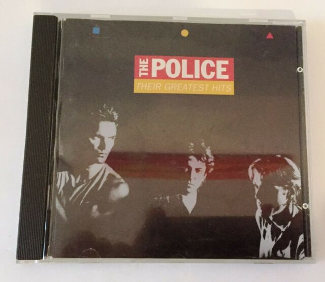 The Police - Their Greatest Hits CD - 1990 W. Germany