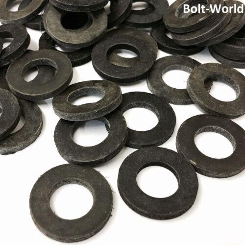 100Pc assortiment en caoutchouc noir forme un néoprène rondelles épaisse rondelle taille M2 à M20