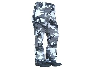 """Urban Camouflage Military Style Combat Cargo NEW Utility Trousers 26/""""-30/"""""""