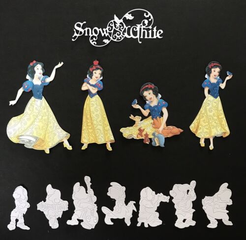 Disney Themed Snow White Die Cuts With Extras