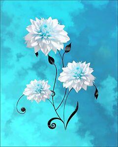 Teal Gray Blue Wall Art Photo Print Home Bath Decor ...