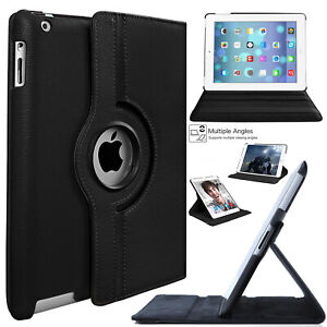 For-Apple-iPad-7-Generation-10-2-034-2019-Case-Rotating-Leather-Smart-Folio-Cover