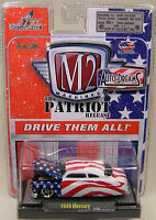 M2 Machine 1:64 Scale Diecast Metal Patriot Series Custom 1949 Mercury