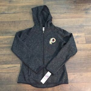 brand new 2d75f 34ae2 NFL WOMEN'S WASHINGTON REDSKINS, hoodie jacket, gray, SMALL ...