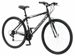Mens-Hybrid-Bicycle-Urban-City-Commuter-Bike-Road-Path-Comfortable-Padded-Seat
