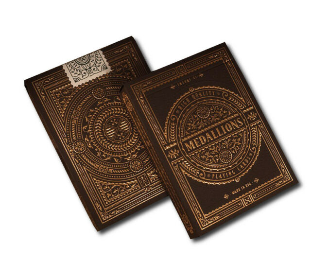 Medallions Deck Signature Bicycle Playing Cards by Theory11 Poker Magic Cardist