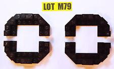 Lot M79 NEW Lego Dark Brown Castle Roof Parts TURRET KINGDOMS VILLAGE 2013 7-14