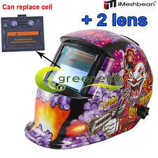 Hg Pro Solar Auto Darkening Welding Helmet Arc Tig Mig Mask Grinding Hood New