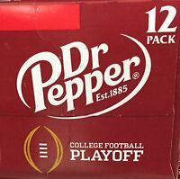 Dr Pepper Soda 12 Pack