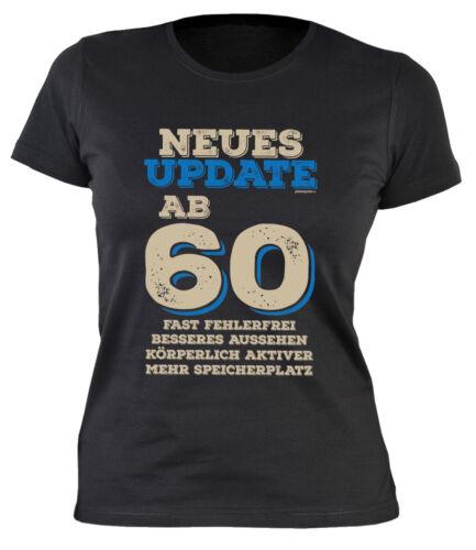 Sprüche 60 Damenshirt 60 Geburtstag Sprücheshirt Frau Geburtstag 60 Jahre