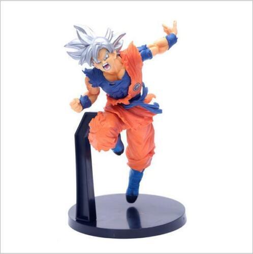 Boys Dragon Ball Super Saiyan God Ultra Instinct Goku Statue PVC Figure Model