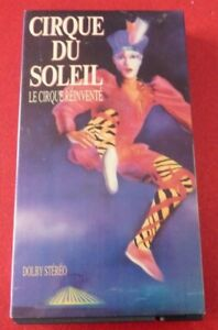 VHS-French-Movie-Cirque-du-Soleil-Le-Cirque-Reinvente-Dolby-Stereo