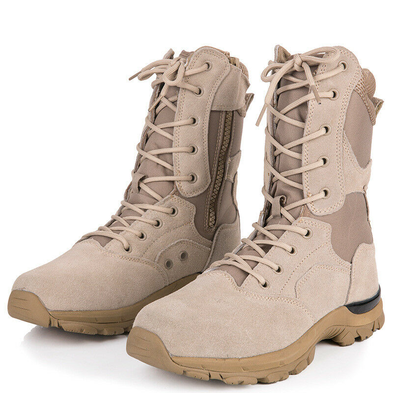 Men Women Army Tactical Boots SWAT Military Combat Outdoor Work shoes Climbing