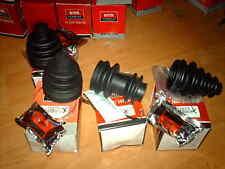 Full set CV gaiter kits ( 4 boots) Nissan Datsun Sunny B11 1982 - 86 1.3 1.5