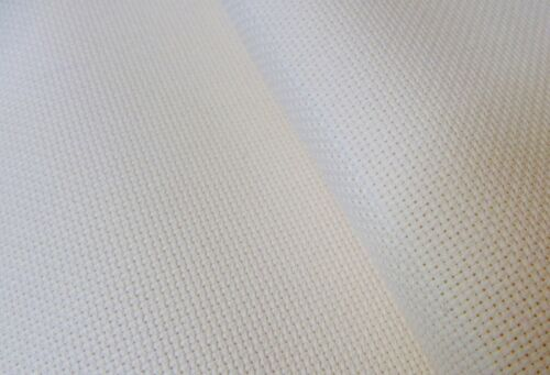 Zweigart ivory 18 count Aida fabric 100 x 110 cm