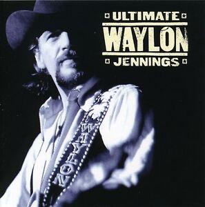 Waylon-Jennings-Ultimate-Waylon-Jennings-New-CD-Rmst