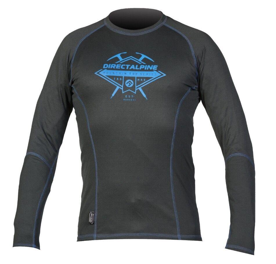 Direct Alpine Shark T-shirt LS, Long Sleeve Shirt for Men, Anthracite