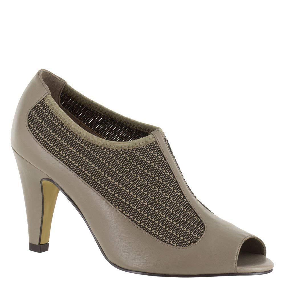 Bella Vita femmes Ninette Open Toe Classic Pumps, gris, Taille 10.0 Zxa5 US   8 UK