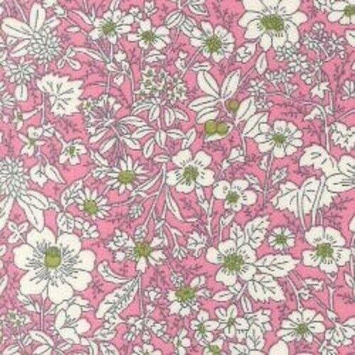 100/% Cotone Popeline Stampato Floreale modello classico in tessuto ABITO QUILTING materiale