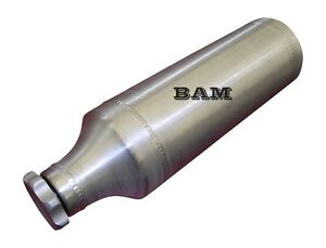 Spun Aluminum Gas Tank - 4X10 BAM Fuel Tube - 1/2 Gallon - No Brackets