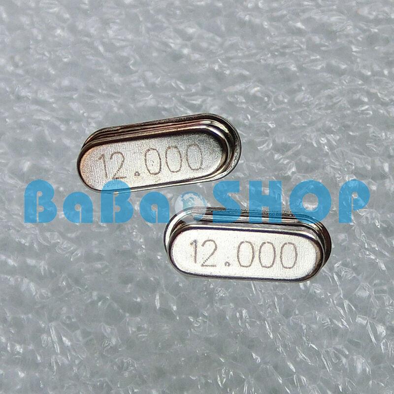 100 Stücke Kristall Oszillator 12.000 Mhz 12 Mhz 12 Mt Hz HC-49S Neue Ic cf