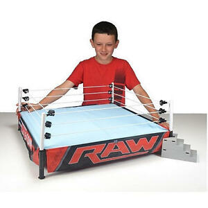 Wwe Authentic Scale Ring - Raw Edition * Figurines Wwf Play 696552553417