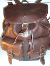 roots EDDIE BAUER EXEC. LIMITED EDITION HORWEEN LEATHER  BACKPACK RUKSAK $600USD